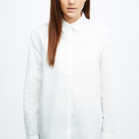 Silence + Noise Kite Back Button-Down Shirt in White - Urban Outfitters