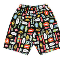 Boy's Comic Superhero Shorts