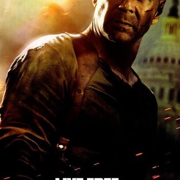 Live Free or Die Hard 27x40 Movie Poster (2007)