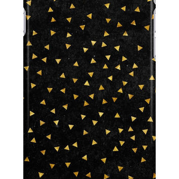 Retro Gold Triangles Pattern by sale