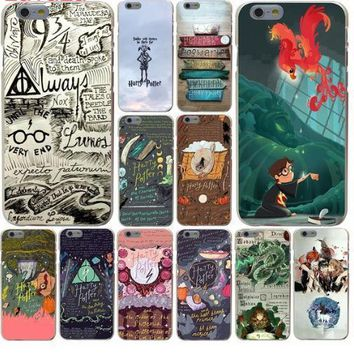 Harry potter and the Philosopher's Stone Phone Cover Case for iphone 5 6 7 8 x