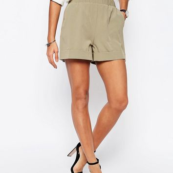 ASOS Tailored Short With Gathered Waist