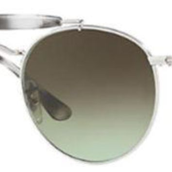 Ray Ban Green Gradient Round Sunglasses RB3747 003/A6 50