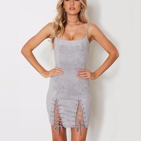 Ivana lace up dress
