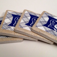 Duke Tile Drink Coasters - Set of 4