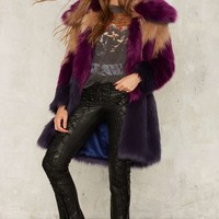 Nasty Gal Collection What the Faux Fur Coat