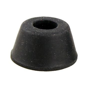 New Hotsale Best Price In Aliexpress promotion 10Pcs 21mm x 12mm Black Conical Recessed Rubber Feet Bumpers Pads SODIAL