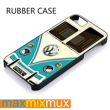 VW iPhone 4/4S, 5/5S, 5C, 6/6 Plus Series Rubber Case