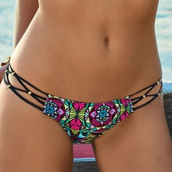 PILYQ Ethnic Braided Teeny Bottom
