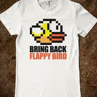 Awesome 'Bring Back Flappy Bird' Protest T-Shirt