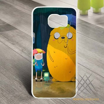 adventure time galaxy Custom case for Samsung Galaxy
