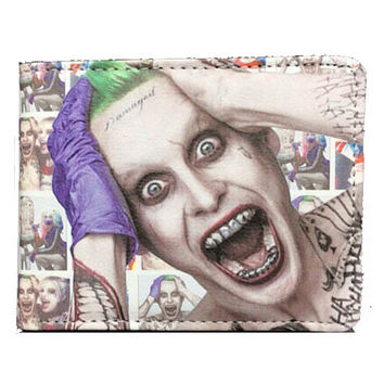 Suicide Squad Movie (The Joker) Bi-fold Wallet