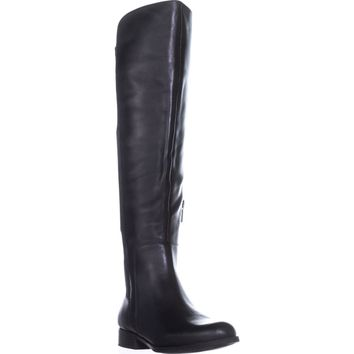 Bandolino Chieri Knee High Boots, Black/Black, 6.5 US