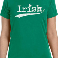 St Patrick's Day Iirish T-shirt Women's T Shirt Wife Gift Girlfriend Gift Ireland Gift Irish Gift Shirt