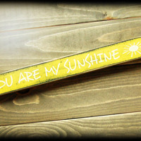 Sunshine Sign, My Only Sunshine, You Are My Sunshine, Mommy and Me,Mother and Child,Baby Shower Gift,Gifts Under 20,Custom Sign,Shelf Sitter