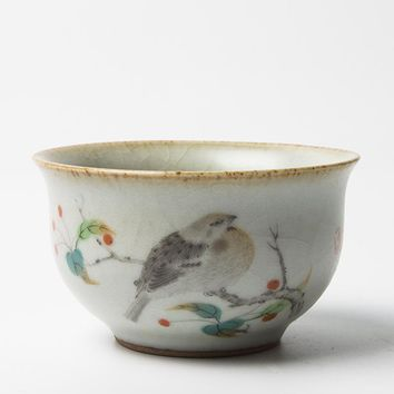 Japanese Coarse Pottery Teacup