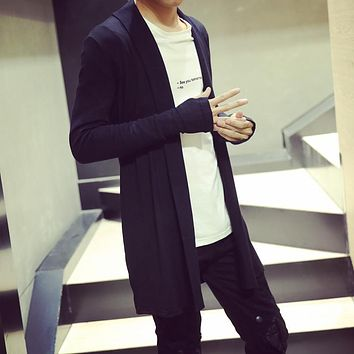 The sale of 2017 hot spring and autumn tide men's sweater cardigan sweater in the new M-XXL