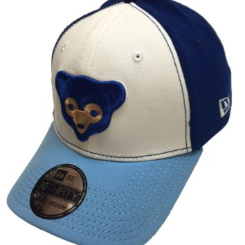 Chicago Cubs 1969 Logo 39THIRTY Flex Fit Hat By New Era
