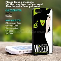 A New Musical WICKED - For iPhone 5 Black Case Cover