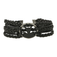 Disney Maleficent Leather Cord Bracelet