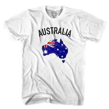 Australia Flag & Country T-shirt