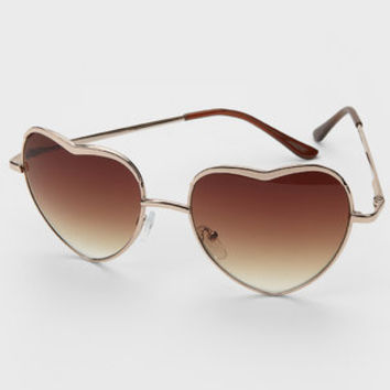 FredFlare.com - Heart Of Glass Sunglasses - Heart Shaped Sunglasses