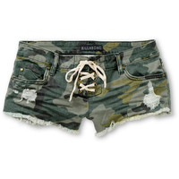 Billabong Lite Hearted Camo Print Cut Off Shorts at Zumiez : PDP