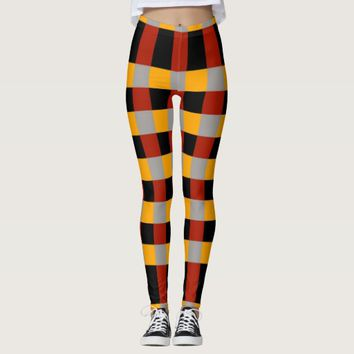 Checkered Women's Leggings