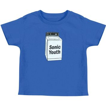 bea602c4 Sonic Youth Boys' Baby Washer Childrens T-shirt Royal Rockabilia