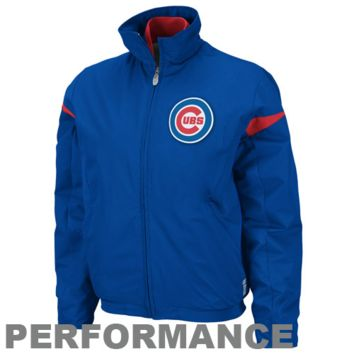 Majestic Chicago Cubs Youth Royal Blue Therma Base Triple Peak Premier Full Zip Jacket - http://www.shareasale.com/m-pr.cfm?merchantID=7124&userID=1042934&productID=494281618 / Chicago Cubs