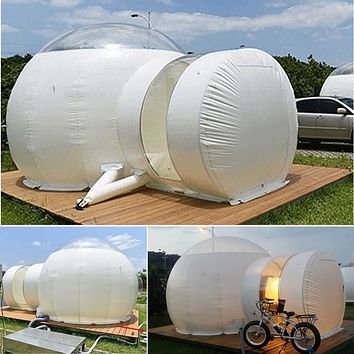 Inflatable Eco Bubble Dome Camping Tent 3m