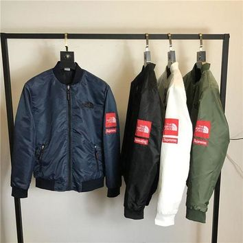 Supreme x The North Face Add Cotton Thick Outdoor Jacket M--XXL