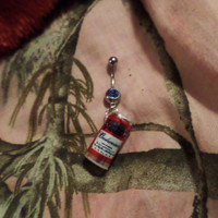 Budweiser Belly Button Rings
