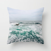 Emerald Love San Diego, California Throw Pillow by SoCal Chic Photography
