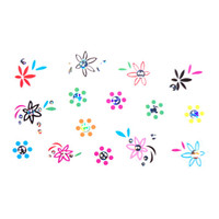 Nail Decals  multicolors for nail art