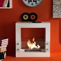 Bioethanol modern black or white Fireplace 5 - 5/B by Stones
