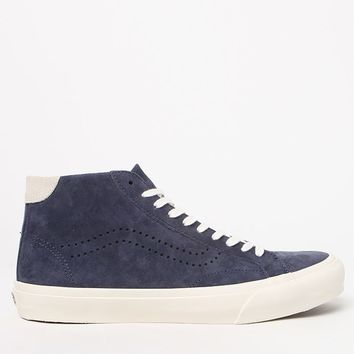 Vans Pig Suede Court Mid DX Navy Shoes at PacSun.com