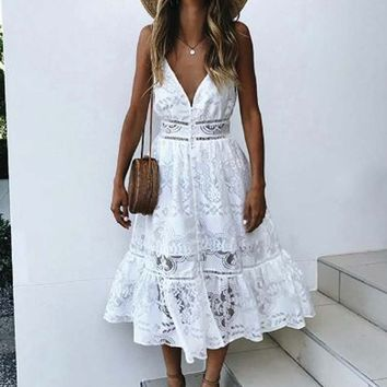 Chateau Lace Dress