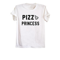 Pizza t shirt funny pizza shirts womens tshirts mens shirts pizza gifts clothes tumblr hipster white tee size XS S M L
