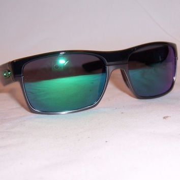 New Oakley Sunglasses TWOFACE OO9189-04 BLACK/JADE MIRROR AUTHENTIC 9189