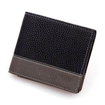 men wallets punk business card holder clutch male partmanet for men leather carteiras homem #YHYW