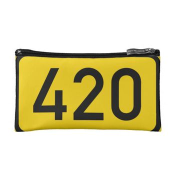 420 Cosmetic Bag, Stash Box, Stoner Chicks, Weed Cosmetic Bag
