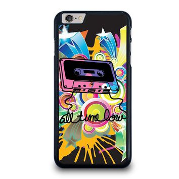 all time low retro cassete iphone 6 6s plus case cover  number 1