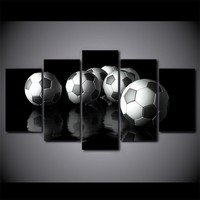 Soccer Football Ball Wall Art on canvas picture poster framed unframed