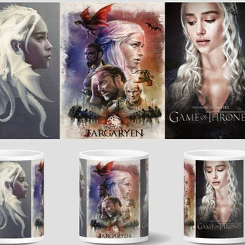 game of thrones mug house stark a song of ice and fire mug heat changing color heat reveal  magic tea coffee Cups ceramic