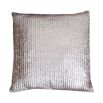 Thro by Marlo Lorenz Gary Quilted Crackle Feather Filled Square Throw Pillow | Overstock.com Shopping - The Best Deals on Throw Pillows