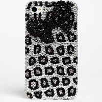 LEOPARD BOW TIE IPHONE CASE