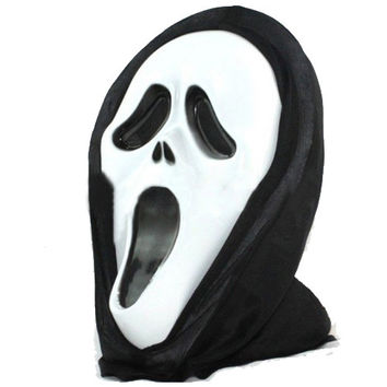 Halloween Scary Ghost Scream Mask