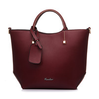 Fashion Vintage Leather Tote Bag