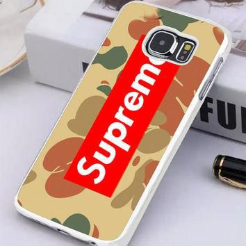 Supreme Camo Horizontal Samsung Galaxy S6 Edge Plus Case | Tegalega